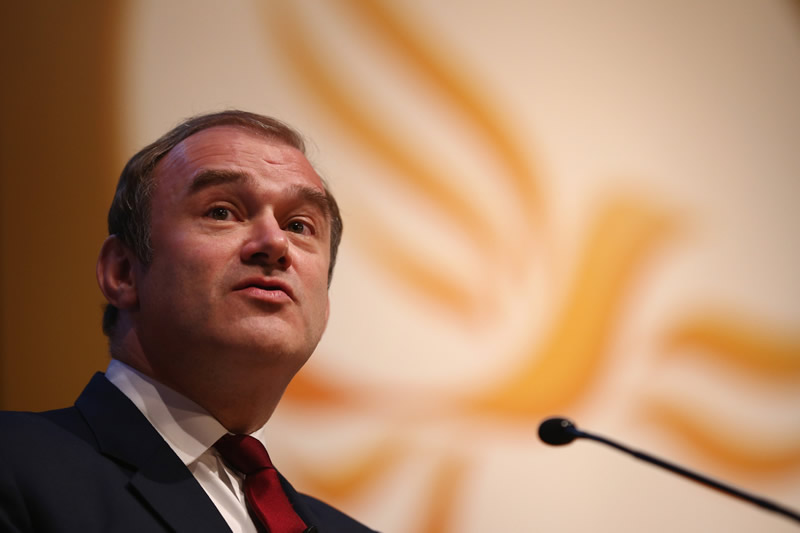 Ed Davey welcomes UN climate change report