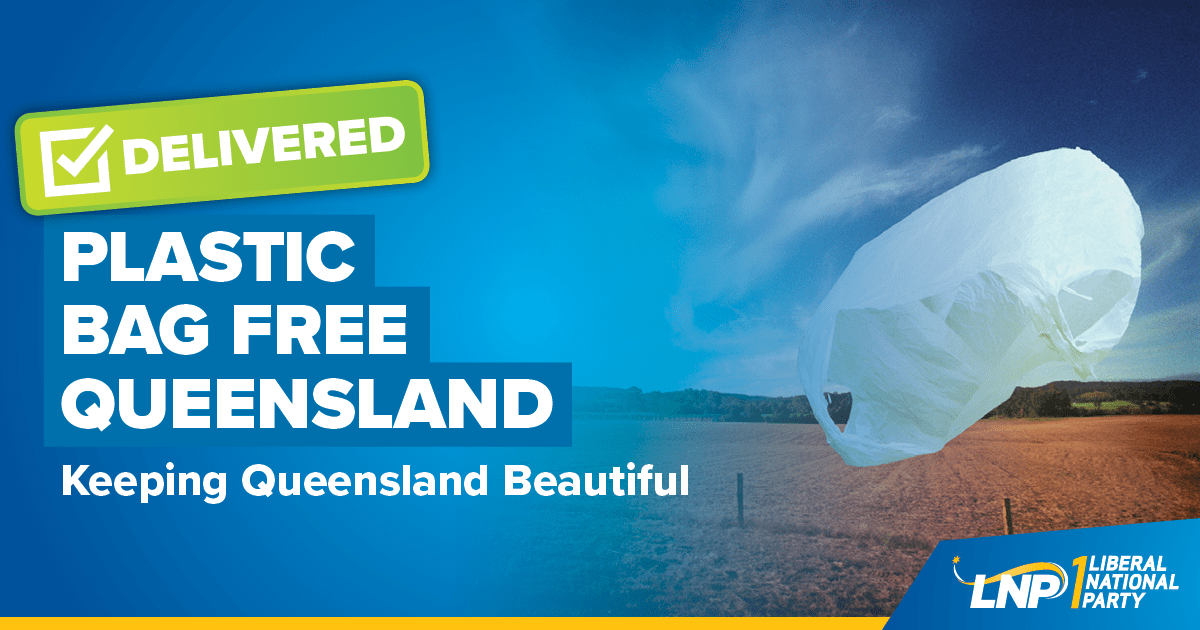 Plastic Bag Free Queensland Shareable