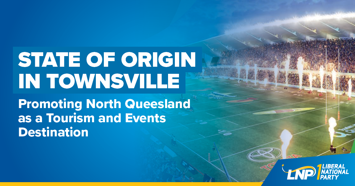 State of Origin in Townsville Shareable