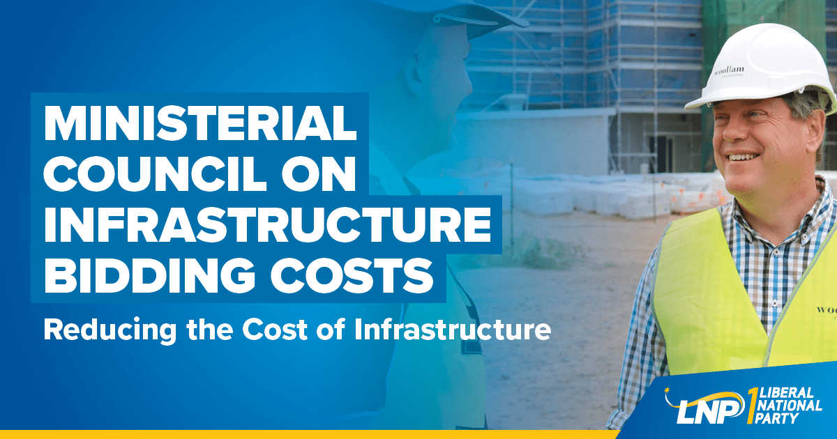 Ministerial Council on Infrastructure Bidding Costs Shareable