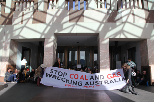 Landowners Sit-In at Federal Parliament: Call for 'A Fair Go' Against Mining Giants