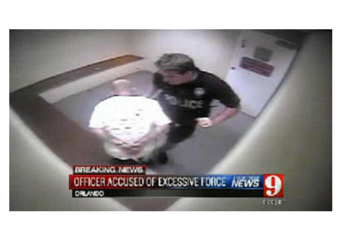 Caught on Video: Orlando Cop Knees Handcuffed Suspect, Rupturing Spleen