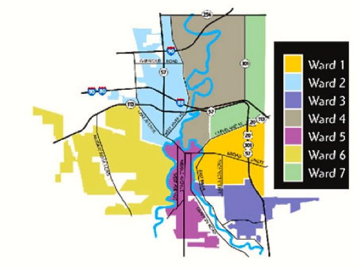 Ward Map Marcus Madison