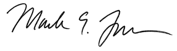 Mark Farrell signature