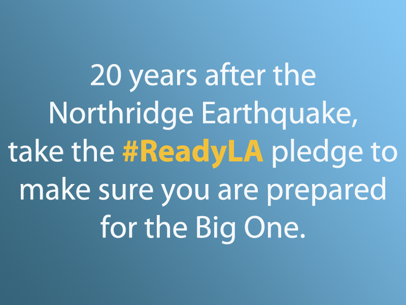 Take the #ReadyLA Pledge