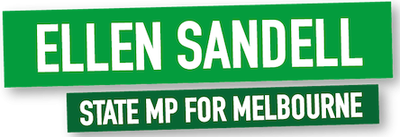 Ellen Sandell MLA for Melbourne
