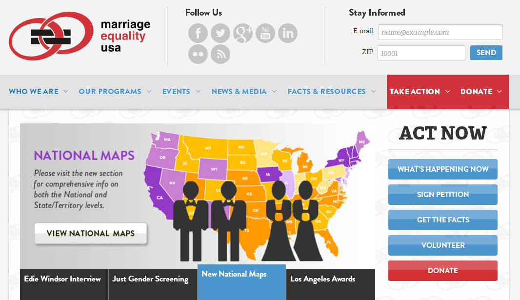 marriage equality News about same-sex marriage, civil unions, and domestic partnerships commentary and archival information about same-sex marriage, civil unions, and domestic partnerships from the new york times.