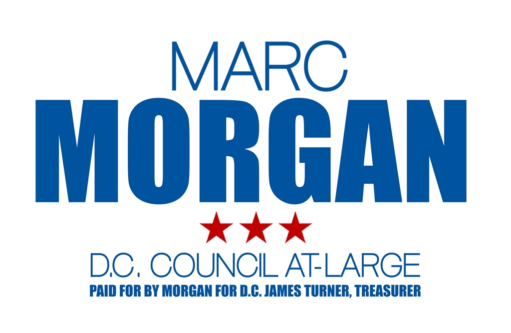 Marc Morgan,  D.C. Council At-Large 2014