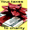 MS taxes to charity