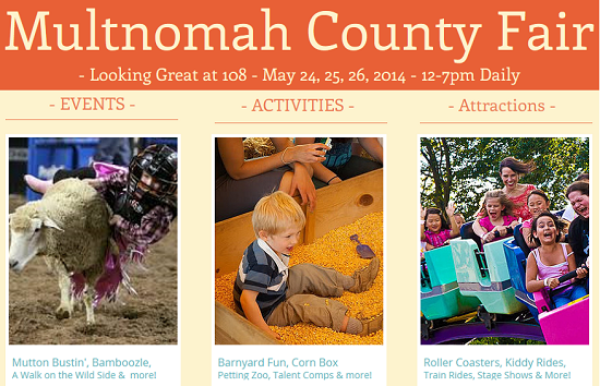Multnomah County Fai 2014