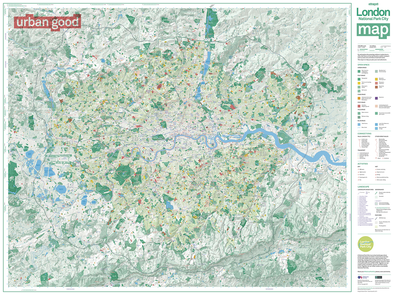 Our Map Of London - London map with cities
