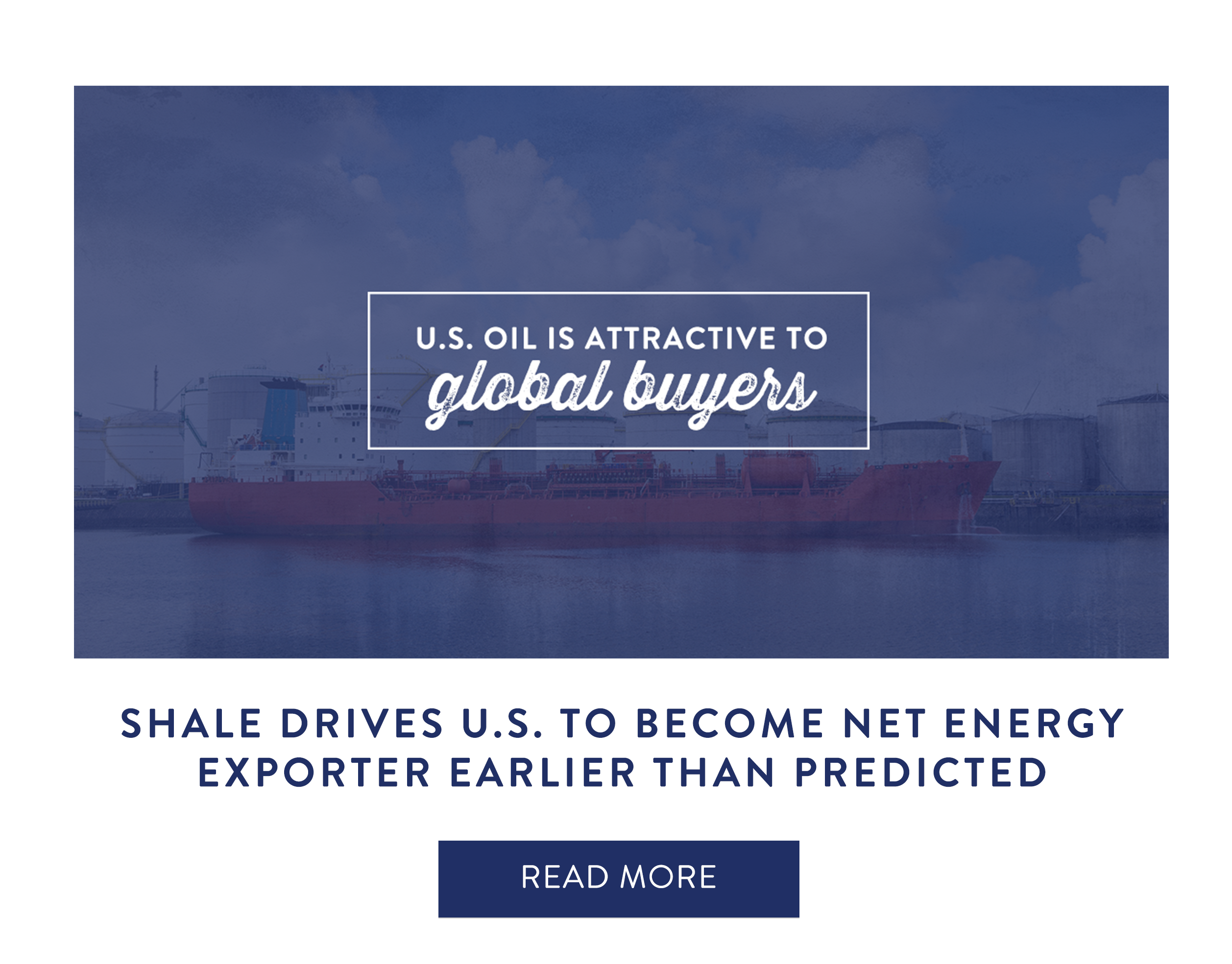 Shale Drives U.S. to Become Net Energy Exporter Earlier than Predicted