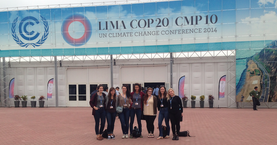 Hey COP20, the Canadian Youth Delegation has arrived!