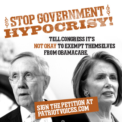 Stop Government Hypocrisy: Sign Our Petition!