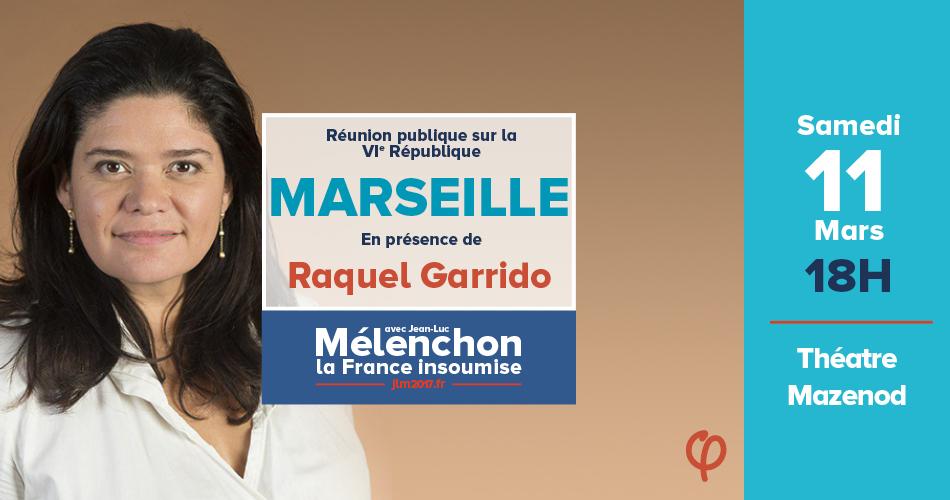 Réunion publique et échange autour de la 6e République en présence de Raquel Garrido