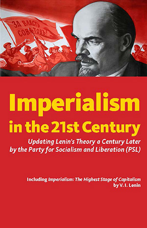 Cover of the book 'Imperialism in the 21st Century: UpdatingLenin's Theory a Century Later'
