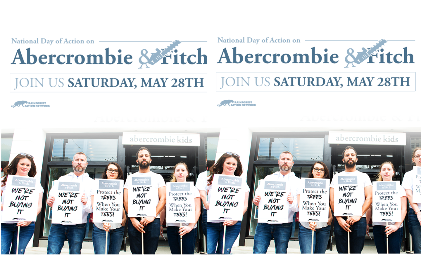 National Day of Action on Abercrombie & Fitch -- Sat., May 28th