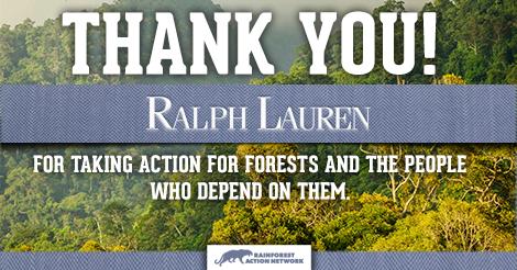 Ralph Lauren Commits to Rainforest-Free Fabrics
