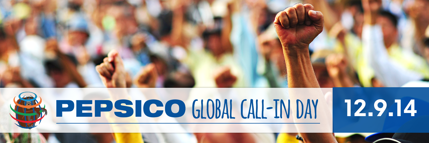 PepsiCo Global Call-in Day - Sign Up!