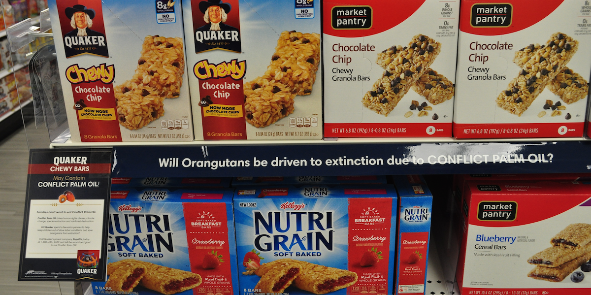 #ChangeQuaker in Snack Food Aisles Across America!