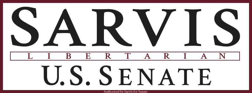 Robert Sarvis for U.S. Senate