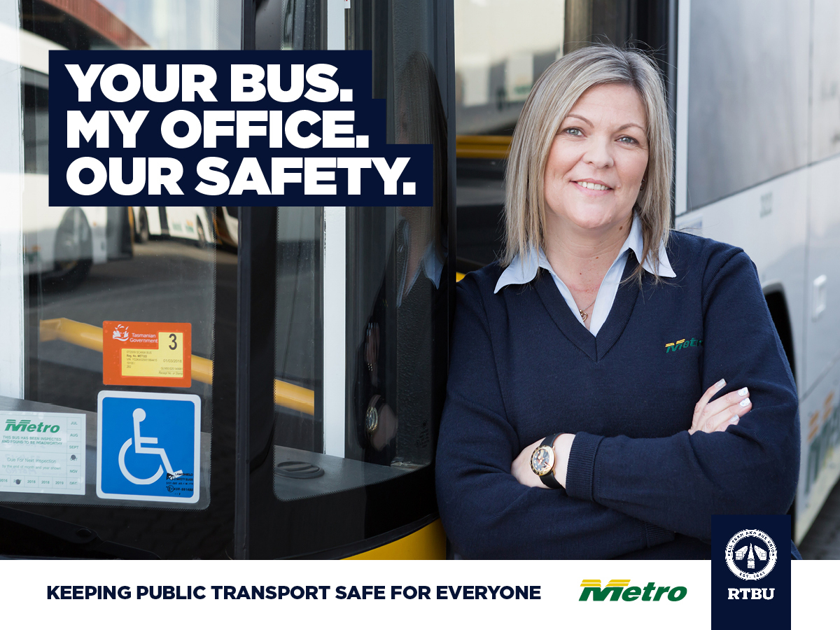 Your Bus. My Office. Our Safety