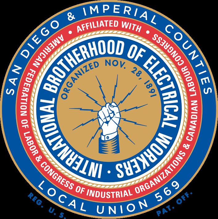 IBEW 569 logo