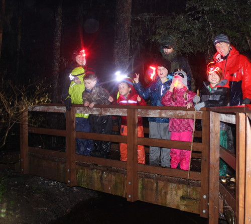 Photo for 4-H Explores Sitka's Ecosystems at Night