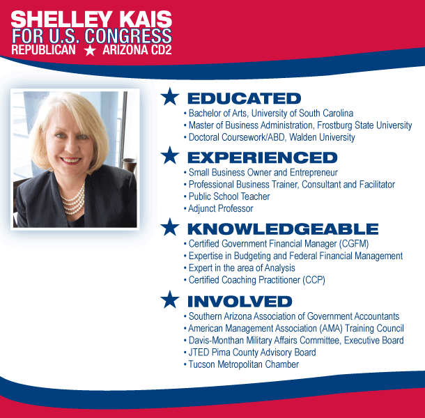 Shelley Kais Republican for U.S. Congress AZ CD 2
