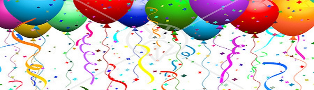 clipart balloons and streamers - photo #24