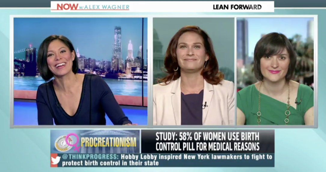 NOW With Alex Wagner: 'Hobby Lobby' case could set 'chilling' precedent