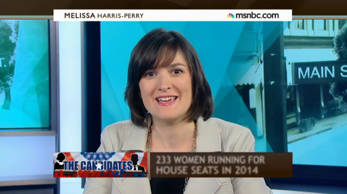 Melissa Harris-Perry on MSNBC: Sandra Fluke on why the GOP struggles to elect women