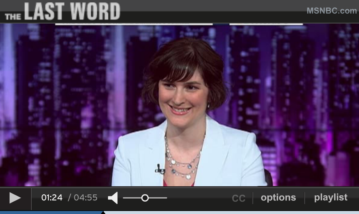 The Last Word with Lawrence O'Donnell: Sandra Fluke on Student Loan Debt