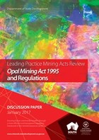 Final Mining Act paper released