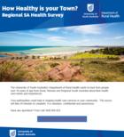 Have your say - Regional SA Health Survey