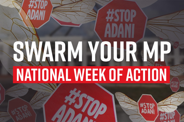 Join the national week of action! No $1B loan for Adani