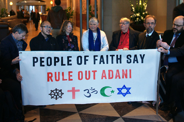 Doctors and faith leaders pile on to Stop Adani
