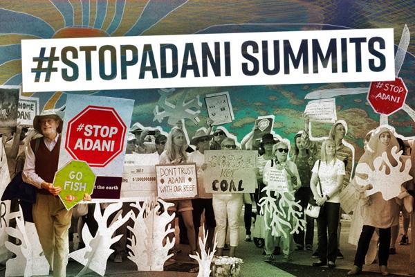 #StopAdani Summits