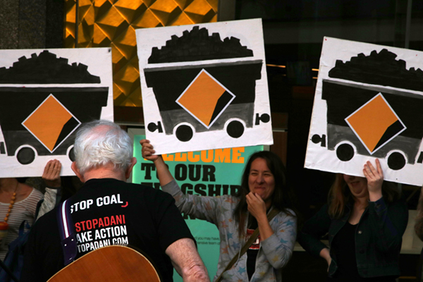 Commbank's refusal to finance Adani coal mine