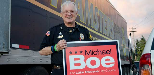 Local 117 Teamster Sgt. Michael Boe Running for Office Image