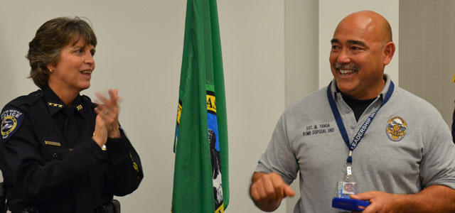 Port of Seattle Police Officers Honored for Outstanding Service and Live-Saving Efforts Image