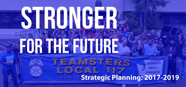 Stronger for the future: Building our union's new strategic plan Image