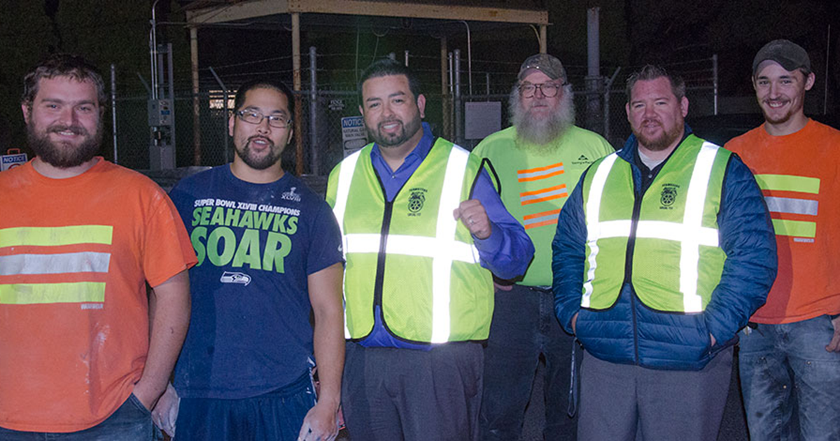 Teamsters at GP Gypsum Ratify 4-Year Contract Image
