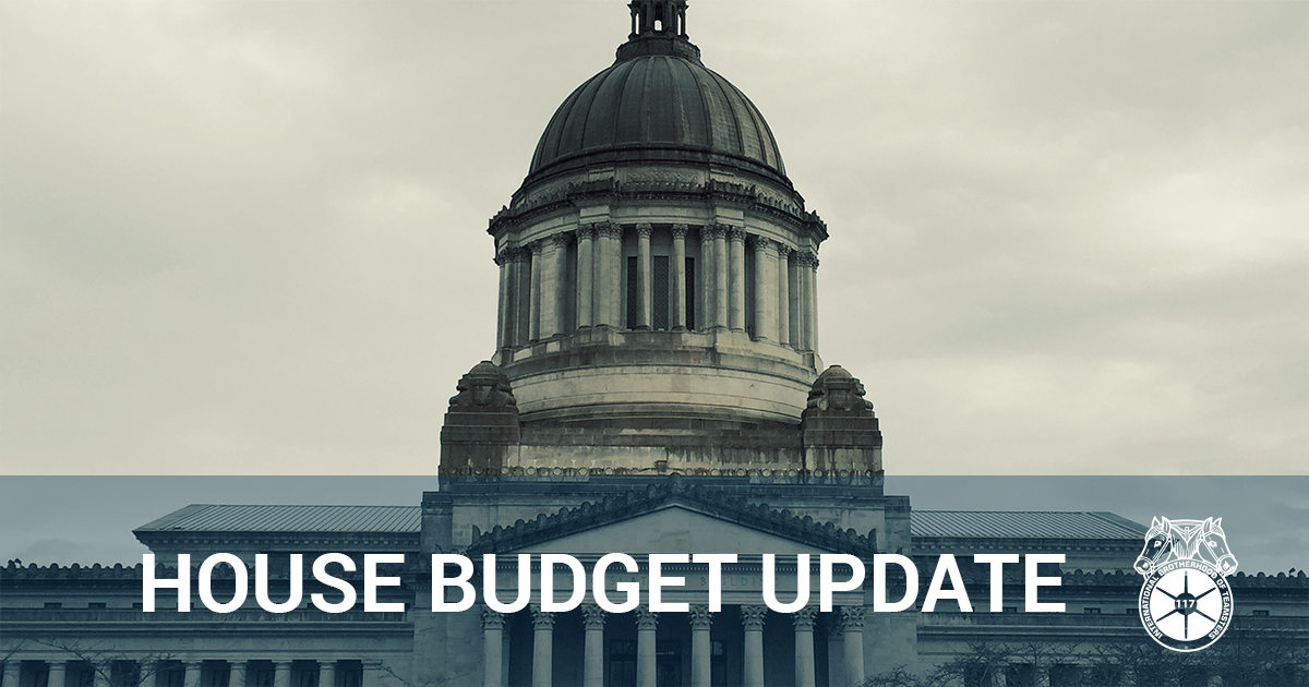 House funds our DOC legislative agenda Image