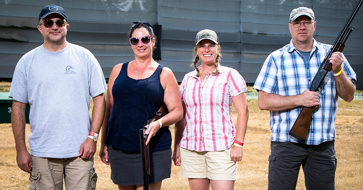 Teamster sharpshooters raise money to fight hunger Image