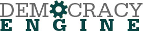 Democracy Engine Logo.