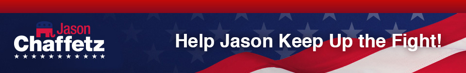 Jason Chaffetz | Right for Utah | Help Jason Keep Up the Fight!