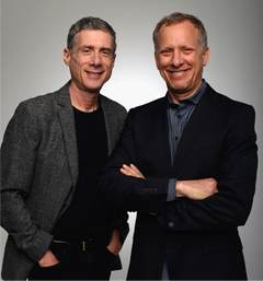 Filmmakers Jeffrey Friedman and Rob Epstein
