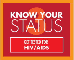Get tested for HIV / AIDs