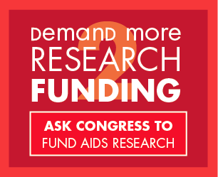 Ask Congress to Fund AIDS Research